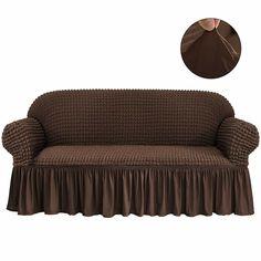 Sure Fit Stretch Pique Box Cushion Sofa Slipcover