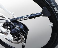 スポークではなくショックアブソーバーを持つ自転車用タイヤ「Fluent」 - えん乗り