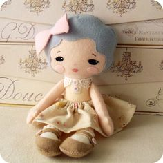 Free Simple Doll Patterns | Gingermelon Dolls: February 2012