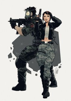 Commission: Michael and Julia by redgvicente.deviantart.com on @deviantART