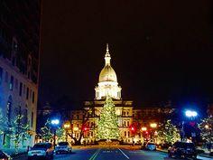 Downtown Lansing, MI December 2014