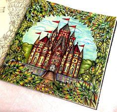 Inspirational Coloring Pages by Sheyla Braz #inspiração #coloringbooks #livrosdecolorir #jardimsecreto #secretgarden #florestaencantada #enchantedforest #reinoanimal #animalkingdom #adultcoloring #milliemarotta #castle