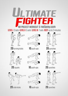 Ultimate Fighter workout #weightlosstips