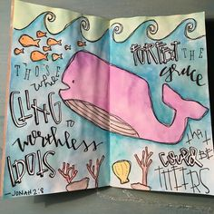 This verse speaks volumes! What are you clinging to and why are you afraid to let it go? Gods character is good (didn't He prove that at the cross?)! Trust that He has it all worked out for your good and give Him your all! Art inspired by @christy_fae #illustratedfaith #biblejournalingcommunity #biblejournaling http://ift.tt/1KAavV3