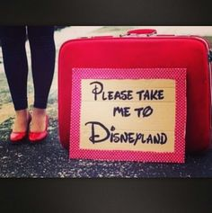 Please take me to Disney