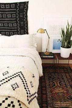 Modern southwestern bedroom. #Southwestern #Masculine #Design