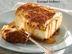 melktert karamel