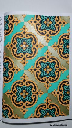 Coloriage issu du livre : Mille et une nuits - Hachette loisir - Art-thérapie. Plus de détails sur Gribouilleuse.com