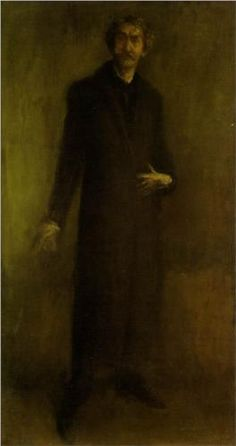 James McNeill Whistler (American: 1834- 1903)   Brown and Gold