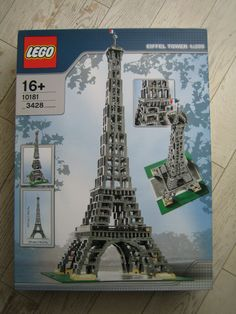 LEGO Eiffel Tower Kit...would love to put together with Roland