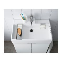 """LILLÅNGEN Sink, 1 bowl - 23 5/8x16x5 1/8 """" - IKEA"""