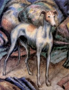 Edward Middleton Manigault - Greyhound, 1918