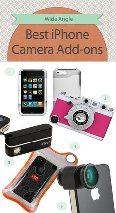 Today we're showing you the best iPhone camera add-ons around, made to help you take better pictures without weighing down your purse.