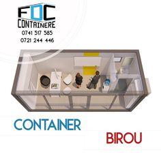 Birou mobil modern și ecologic din container monobloc/modular.  #fabricatinromania🇹🇩 #container #modular #modularcontainer #modularoffice #modularconstruction #smartbuilding #officespace #officedesign #officedesigntrends #3dmodeling #3dmodel #containeroffice #containerbuilding #modulardesign #sustainability #sustainablebusiness #sustainablebuilding #ecobuilding #fabricadecontainere #containerefdc Eco Buildings, Container Office, Modular Office, Container Buildings, Modular Design, Magazine Rack, Cabinet, Storage, Sustainability