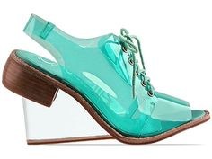 Jeffrey Campbell Float in Forest Green