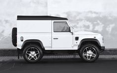 2014  Kahn Design Land Rover Defender White Chelsea Wide Track