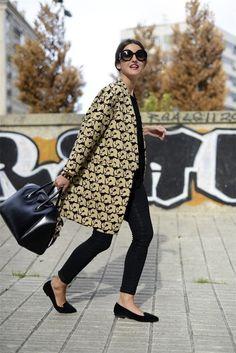 Alexandra Pereira, Lovely Pepa, con slippers de la colección que ha diseñado para Krack