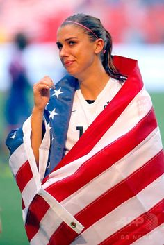 女子サッカーW杯カナダ大会・決勝、米国対日本。試合に勝利し歓喜する米国のアレックス・モーガン(2015年7月5日撮影)。(c)AFP/Getty Images/Kevin C. Cox ▼6Jul2015AFP 米国が通算3度目の女子W杯制覇!なでしこ連覇ならず http://www.afpbb.com/articles/-/3052325 #2015_FIFA_Womens_World_Cup #Final_United_States_vs_Japan #Alex_Morgan