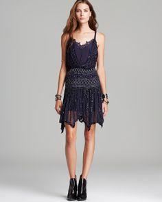 Free People Dress - Mint Tea Shimmer Party | Bloomingdale's