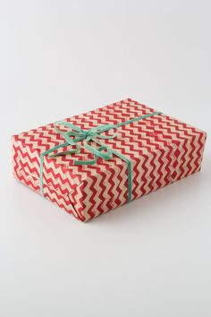 Herringbone Wrapping Paper #Anthropologie
