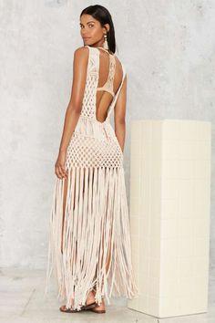 Flook the Label La Bonita Macrame Cover-Up - Clothes | Swim Shop | Cover Ups | Swimwear