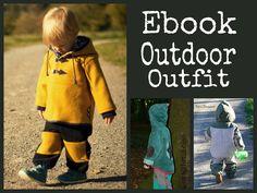 Ebook Outdoor Outfit Anorak und Buddelbüx von For Mami & Me  auf DaWanda.com