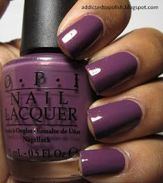 Addicted to Polish: OPI Dutch 'Ya Just Love OPI?