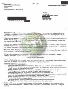 IRS Installment Agreement   Franklin Park, IL 60131  MM Financial Consulting, Inc.