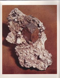 Anatase from Switzerland from The World's Finest Minerals and Crystals by Peter Bancroft A Studio Book, The Viking Press, New York, 1973