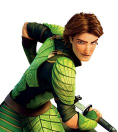 Nod from Epic -- How can they make ANIMATED guys SO ATTRACTIVE???????? It's not fair...