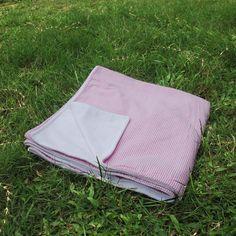 Soft Seersucker Material Monogramable Beach Pool Towel