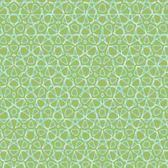 starry quasicrystal in jade and aqua fabric by weavingmajor on Spoonflower - custom fabric