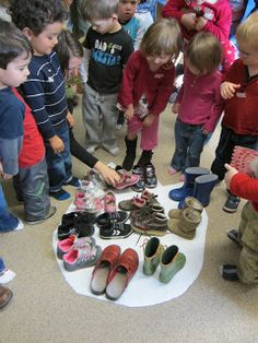 How big would a T-Rex's footprint be? The same size as our foot or bigger? We imagined it would be bigger. But how much bigger? We took o...