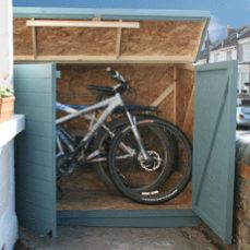 Learn How To Build A Bike Shed Using My Free Plans And