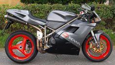 DUCATI 916 Senna I no. 212   Denmark Ducati 916, Mv Agusta, Super Bikes, Denmark, Motorcycles, Racing, Awesome, Ebay, Sportbikes