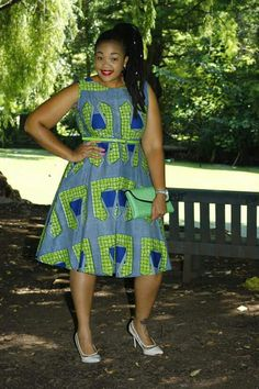 Short African Dresses, African Print Dresses, African Fashion Dresses, African Attire, African Wear, African Women, African Print Fashion, Africa Fashion, Ethnic Fashion