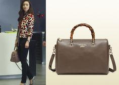 "Choi Ji-Woo 최지우 in ""Temptation"" Episode 6.  Gucci Bamboo Shopper Leather Boston Bag #Kdrama #Temptation 유혹 #ChoiJiWoo"
