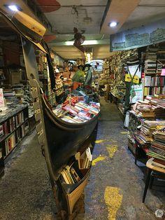 Libreria Acqua Alta, Veneza, Itália