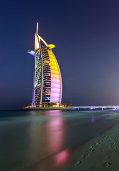 The Burj Al Arab by Glenn Richie on 500px