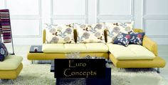 L Sofa Leather Sectional, Sectional Sofa, Couch, L Sofas, Sofa Set, Modern, Furniture, Home Decor, Modular Couch