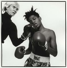 Warhol vs Basquiat