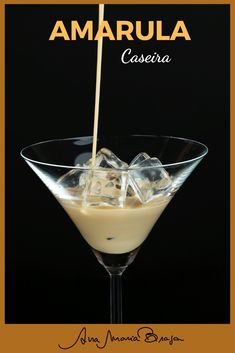 Fancy Drinks, Bar Drinks, Summer Drinks, Cocktail Drinks, Coffee Drinks, Amarula Drink, Homemade Wine Recipes, Condensed Milk Recipes, Gin
