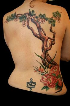 Bonsai tree tattoos - Tattoo Ideas for Science Lovers – Bonsai tree tattoos Tree Branch Tattoo, Pine Tree Tattoo, Leg Tattoos, Small Tattoos, Tatoos, Scientific Tattoo, Bonsai Tree Tattoos, Fruit Tree Garden, Palm Tree Pictures