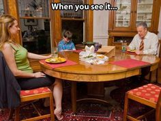 Holy crap!! It took me a minute to find it but.....look at the reflection in the china cabinet!! Freaky!