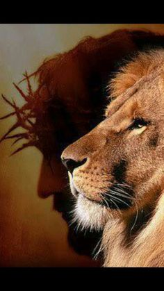 Jessica Feuerstein - Face to the ground - There is Power in the Name of Jesus to Break Every Chain! Jesus Wallpaper, Lion Wallpaper, Jesus Christ Images, Jesus Art, Lion Pictures, Jesus Pictures, Break Every Chain, Jesus Drawings, Lion And Lamb