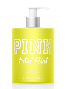 Total Flirt Body Lotion PINK  ....i want this jus love the smell!