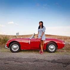 Austin-Healey Sprite Frog (Puglia Country Side - Italy) on Behance