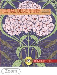 This fresh collection of floral images presents attractive banners, spot illustrations, and motifs created from individual flowers, sprays, leaves, buds, tendrils, and other organic elements. Over 250 high-resolution and Internet-ready graphics feature an abundance of popular floral styles: Art Nouveau, Art Deco, Celtic, Arts & Crafts, and more.