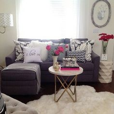 88 Creative Living Room Decoration Ideas For Small Apartment | Small  Apartments, Apartments And Living Rooms
