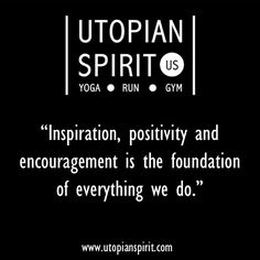 The foundations for Utopian Spirit...
